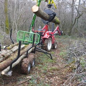 ATV форвардер для трелевки леса. Оптом и в розницу