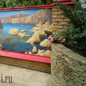 Скидка 30% худож. роспись фасадов,  заборов,  стен,  потолков,  мебели
