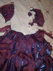 Продам очень красивое платье для девочки(8-12лет)