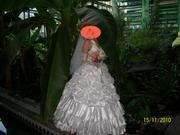 Продам красивое свадебное платье  б/у